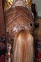 M.C. ILLIONS CARVED WOOD CAROUSEL HORSE, H 51