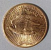 1914-S $20- Saint Gaudens Gold Coin Unc.
