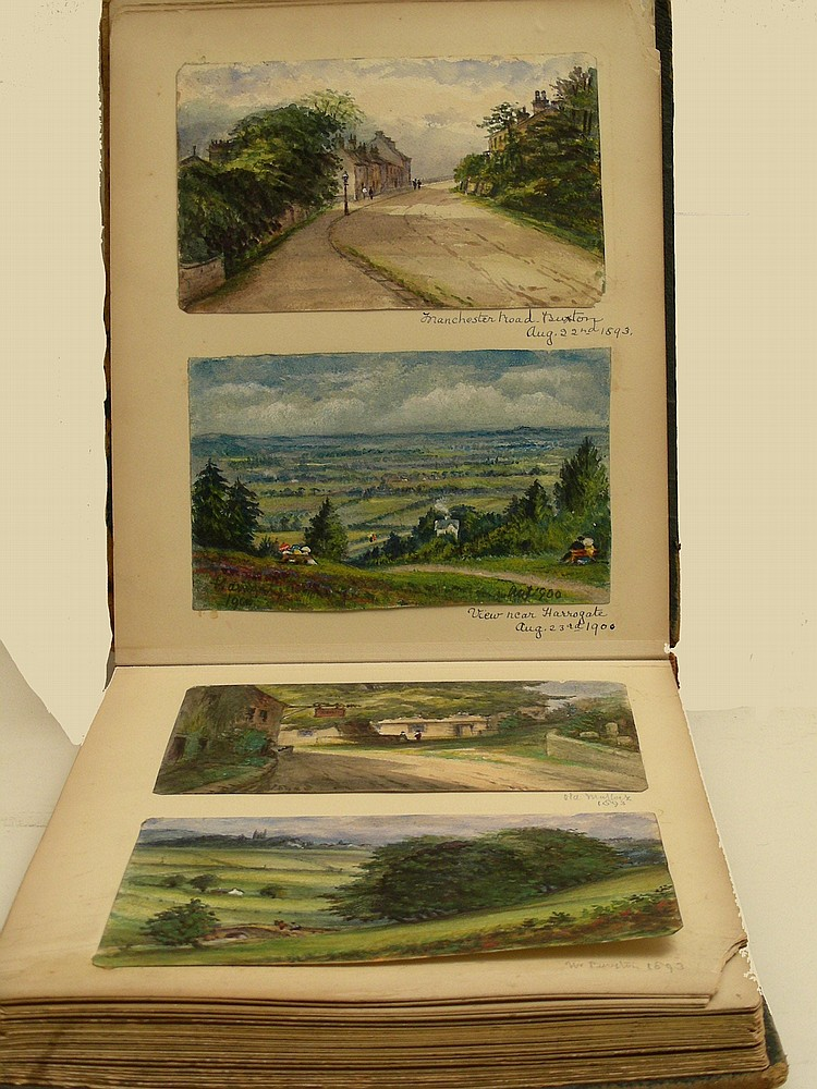 Edward Bannister (1820-1916): 'Sketches from