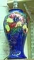 Moorcroft Anenome patten table lamp 39cm overall
