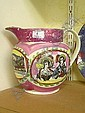 Early 19th century Sunderland lustre jug depicting