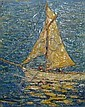 D Atherton Smith (exh.1911-1912): Yacht with, D. Atherton Smith, Click for value