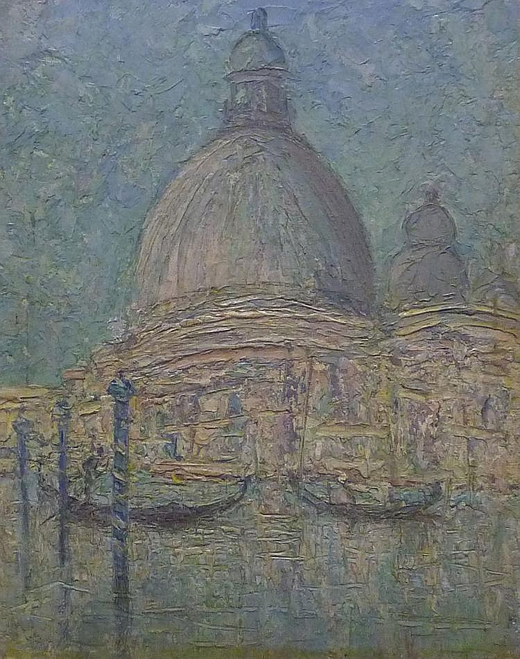 D Atherton Smith (exh.1911-1912): Venice, oil on