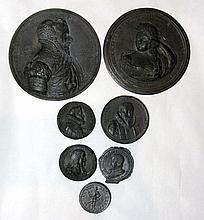 COLLECTION OF DUTCH & SPAIN MEDALS, TOKENS (A)