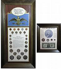 SILVER COIN LOT Morgan, Eisenhower, Peace, Liberty