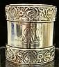 Gorham Sterling Silver Zodiac Napkin Ring