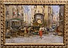 RIPPOLI ITALIAN MARKET SCENE W/ GIRL OIL /MASONITE