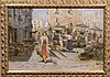 RIPPOLI ITALIAN GIRL AT THE MARKET OIL /MASONITE