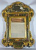 19TH CENTURY ITALIAN CARVED & PAINTED MIRROR