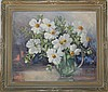 EDITH SOWERSBY OIL ON BOARD POPPY PAINTING