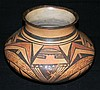 HOPI NATIVE AMERICAN POLYCHROME OLLA POT