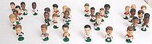 A collection of MUM 1995 Corinthian football figures - including Michael Owen etc.