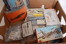 MODEL KITS: A large quantity of sealed (and other) bagged model kits to include Roden, Frog, KM etc,