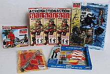ACTION MAN; A collection of Action Man 40th Anniversary boxed action figure dolls (x3) along with a