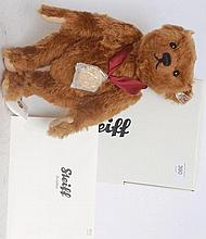 STEIFF; Bear Of The Year 2011 663383 teddy bear, complete with medallion,  original box and certific