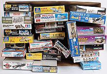 MODEL KITS: 30+ model kits to include Tamiya, Dragon, Revell, Viking, Heller and others.  From a lar