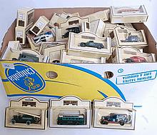 DIECAST: A large quantity (50+) Lledo Days Gone diecast model cars and vehicles.