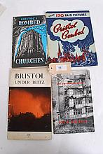 Bristol Under Blitz by Alderman T.H.J Underdown