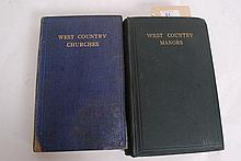 Bristol History - West Country Manors 1930 by W.J.