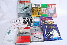 WW1 & WW2 related titles to include Bristol Blitz