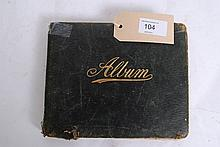 An early 20th Century album of hand written