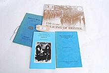 4 Booklets History of Policing in Bristol.