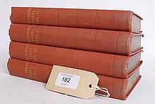 THE WORKS OF OLIVER GOLDSMITH IN FOUR VOLUMES