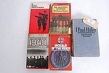 A collection of WWII Books to include; I Paid