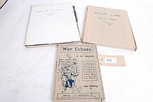 R W French. War Echoes. 1916. First Edition;