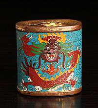 Chinese Cloisonne, Copper & Brass Snuff Bottle