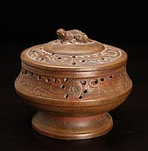 Chinese Zisha Clay Censer