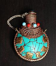 Chinese Turquoise Snuff Bottle