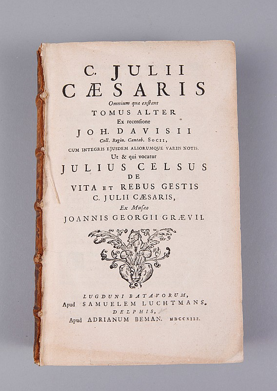 C. Julii Caesaris 17th Century Book