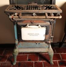 Antique 1920's 3 Burner Detroit Jewel Gas Stove