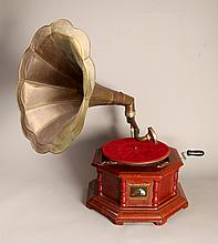 Antique His Master's Voice Gramophone