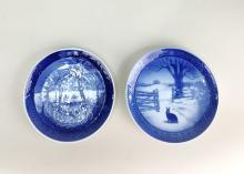 2 Pcs ROYAL COPENHAGEN - Plates