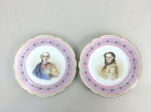 Pair of France - SEVRES Plates