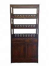 Antique Chinese HuangHuaLi Book Shelf