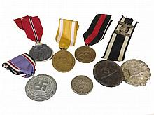 WWII GERMAN MEDALS BADGES AND MORE