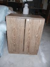 VCR Storage Cabinet - Note: Shipping not available for this item. Buyer Must Pick up or arrange for pick up!