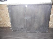 Vintage Wood Cabinet - Note: Shipping not available for this item. Buyer Must Pick up or arrange for pick up!
