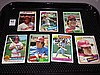 Lot of 7 - Johnny Bench, Pete Rose, Joe Morgan