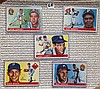 1955 Topps Baseball Lot of 5 Cards - Gene Conley