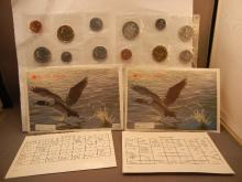 1989 & 1990 Canadian Mint Proof Set from Royal Canadian Mint