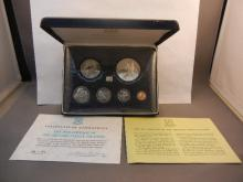 1974 Coinage of the British Islands Proof Set Minted by the Franklin Mint