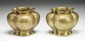 Pair of Chinese Antique Bronze Vases