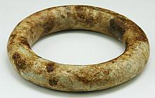 A Chinese Antique Archaic Jade Bangle