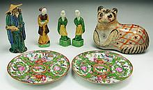 Seven (7) Chinese Porcelain Items