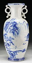A Chinese Blue & White Porcelain Vase