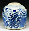 A Chinese Antique Blue & White Porcelain Jar